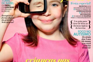 Revista Claudia Filhos, junho de 2015