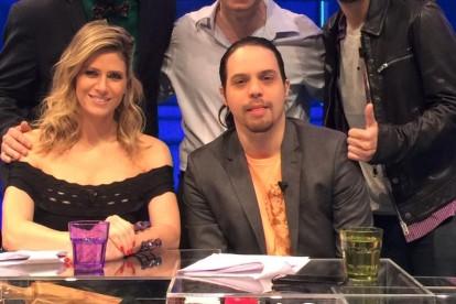 Didi Wagner, Bento Ribeiro, Paulinho Serra, Murilo Gun e Dr. Jamal Azzam no canal Multishow, dezembro de 2015