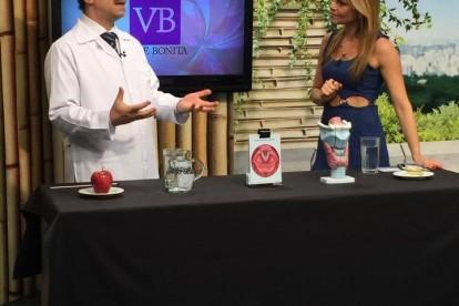 Dr. Jamal Azzam no programa Você Bonita da TV Gazeta, 17/08/2015