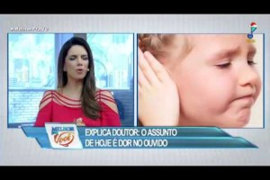 Receita caseira alivia dor de ouvido