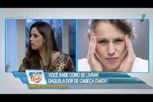 Dor de cabeça pode ser sinal de doença grave