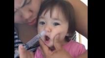 Vídeo que mostra higiene nasal infantil com muito soro impressiona. Afinal, é seguro?